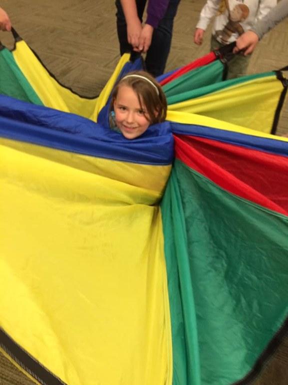 Photo parachute adventures